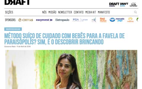 Método suíço de cuidado com bebês para a favela de Paraisópolis? Sim, é o Descobrir Brincando