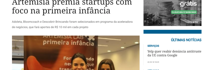 Artemisia premia startups com foco na primeira infância