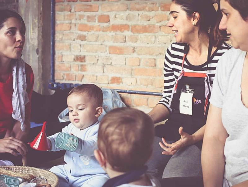 Oficinas Adultos e Bebês